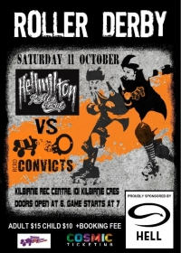 11 Oct- Richter City Convicts vs Hellmilton Roller Ghouls