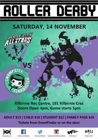 RCRD All Stars VS Swamp City Roller Rats