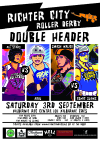 Sat 3 September – Double Header