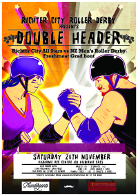 Roller Derby Double Header: All Stars vs Men's Roller Derby
